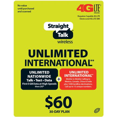 †† Based on a comparison of the average cost of the $45 Straight Talk Service Plan plus average sales tax and fees and the average total monthly cost on an individual 2-year service contract plan with unlimited talk, text and comparable high speed data on the top two carriers. Plan costs include all taxes, fees and overage charges.